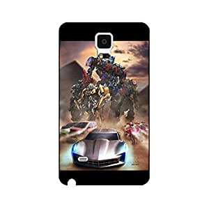 Phone Case Snap on Samsung Galaxy Note 4 Mystic Comic Transformers Hard Case Transformers Design