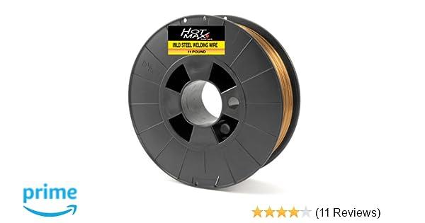 2 spools Fema E70S-6 .030 1lb General Purpose Mild Steel MiG welding wire