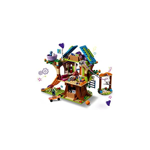 Lego Friends Mias Tree House 41335 Creative Building Toy Set For