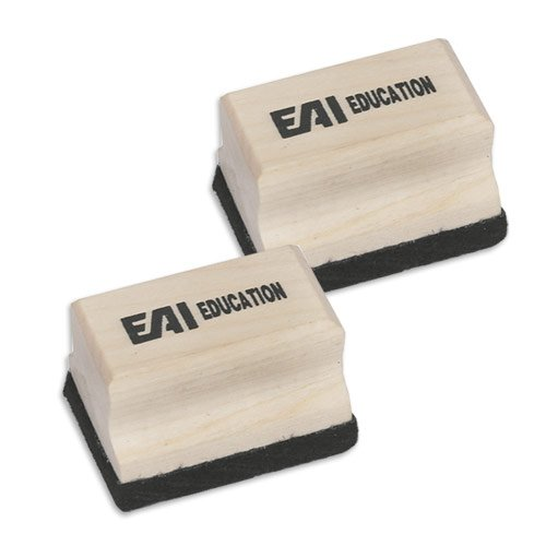 EAI Education Mini Wooden Erasers - Set of 10 ()