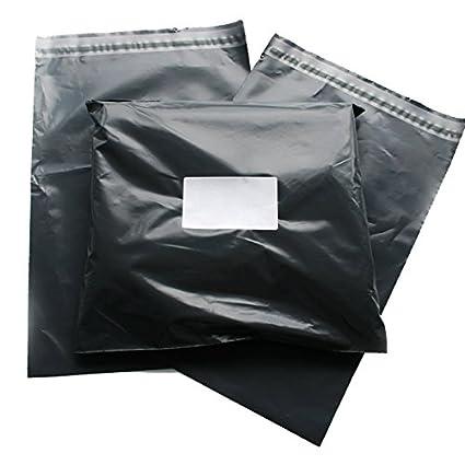 triplast 14 x 16 – Bolsa de plástico para envíos postales (100 unidades), color gris