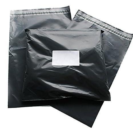 Triplast 14 x 16 cm, in plastica, per spedizioni postali, colore: grigio (Confezione da 100) MBGRY14X16100
