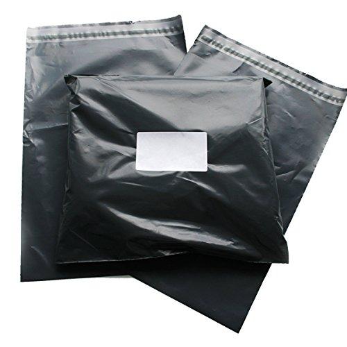 Triplast - Bolsas de plástico para correo postal, color negro (paquete de 100 unidades de 25,4 x 30,50 cm)