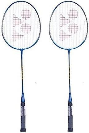 Yonex Badminton Kit Set 2 GR303 Racquets + 1 SUNR1004 Kitbag + Pack of 6 Mavis500 Shuttlecock