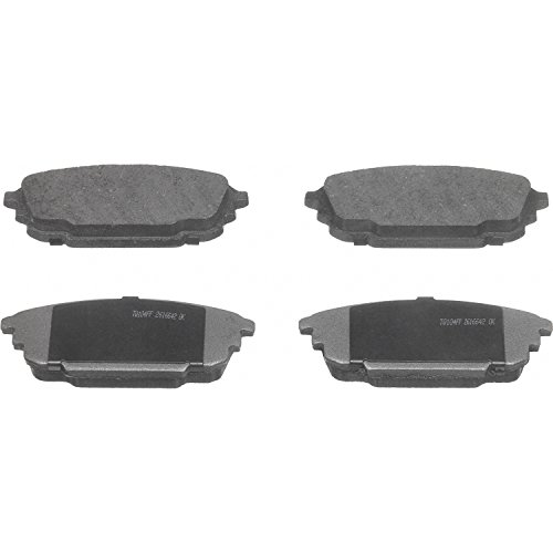 Wagner ThermoQuiet PD892 Ceramic Disc Pad Set, Rear