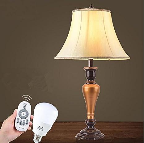WL & F inteligente mando a distancia LED Lámpara de mesa ...