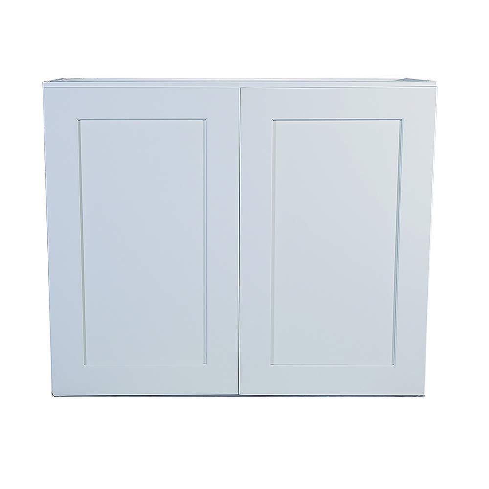 Design House Brookings 36-Inch Wall Cabinet, White Shaker by Design House