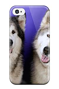 GTWmiPt7996gThwV Valerie Lyn Miller Awesome Case Cover Compatible With Iphone 4/4s - Siberian Husky Dog