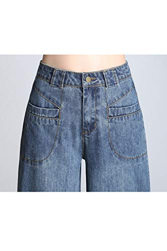 Le Tasche Pantaloni Jeans Occasionale Con Denim Blu Vepodrau In Donne aCwd1q1