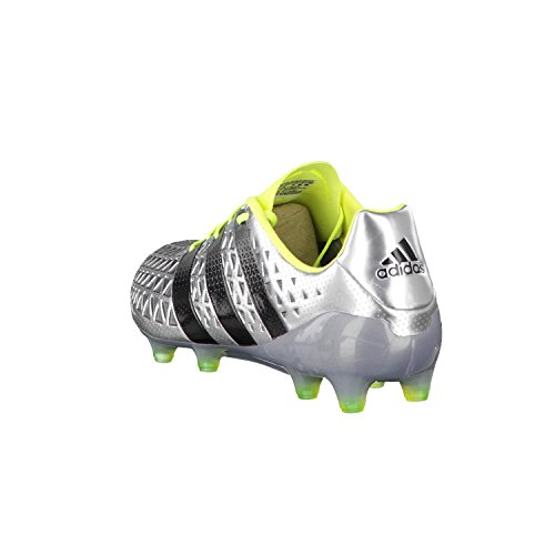 adidas Ace 16.1 FG - Fußballstiefel - Herren, Silber silber / schwarz