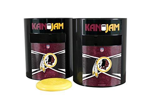 Kan Jam NFL Washington Redskins Disc Gamewashington Redskins Disc Game, Team Color, 11.875