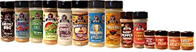 Katie's All Natural Seasonings for making Jerky, Smoking, Grilling, Frying, Dip Making, Eating!