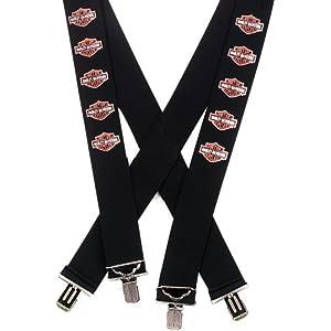 Harley-Davidson SUS30230 Suspenders B&S