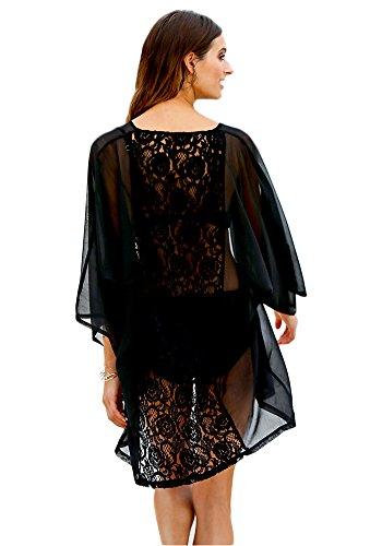 Women Short Sleeves Swimsuit Cardigan product image