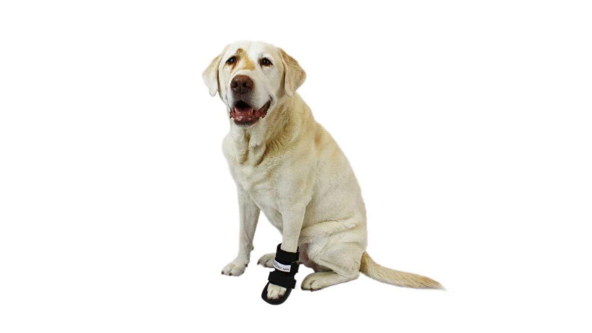Walkin' Pet Splint for Dogs, Canine Bootie Style Leg Splint with Foam Inserts for a More Custom Fit