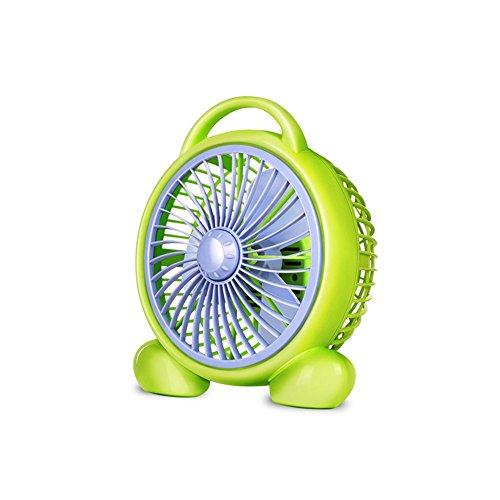 FH Electric Fan Desktop Mini Mute Student Dorm Room Bed Office Table Fan Fortune Fan Household Big Wind Energy Saving Mute Two-speed Adjustment by FH