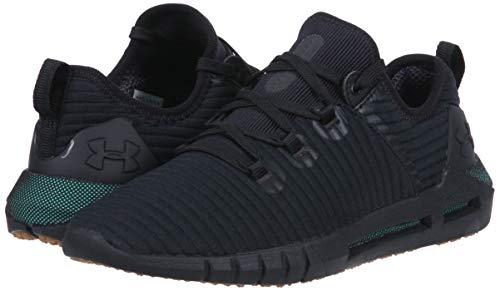 81c315dc Under Armour Men's HOVR SLK LN Sneaker, Black (001)/Charcoal, 7