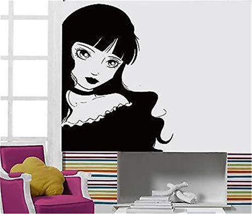 Quotes Art Decals Vinyl Removable Wall Stickers Lolita Girl Teen Gothic Sexy Hot Chick ()