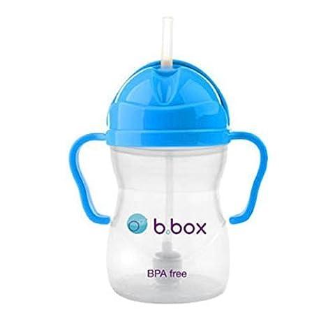B. Box Essential Sippy Cup with Easy Grip Handle - 8 oz (Cobalt, 8 Oz) - B&h Cart