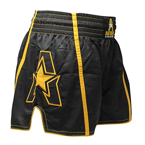 Anthem Athletics Infinity Ghost G2 Muay Thai Shorts - Kickboxing, Thai Boxing - Ghost Gold G2 - X-Large