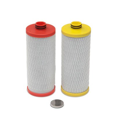 Aquasana Replacement Ooze Cartridges for 2-Stage Under Sink Water Filtration System