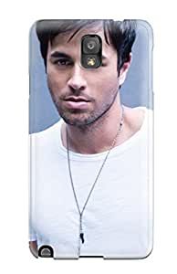 Melissa Fosco's Shop Hot 3316499K11954594 MarvinDGarcia Perfect Tpu Case For Galaxy Note 3/ Anti-scratch Protector Case (enrique Iglesias)