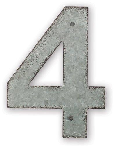 Sunset Vista Design Studios Magnetic Sign 4-Inch Metal Addre