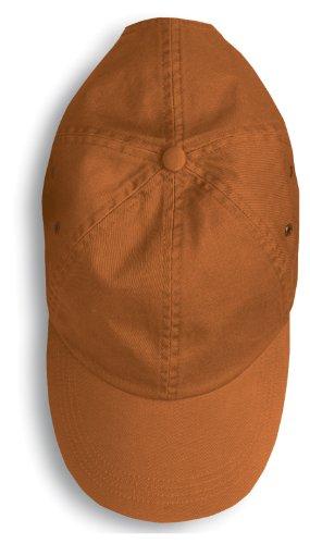 Anvil 156 Solid Low-Profile Twill Cap, Texas (Anvil Cotton Hat)