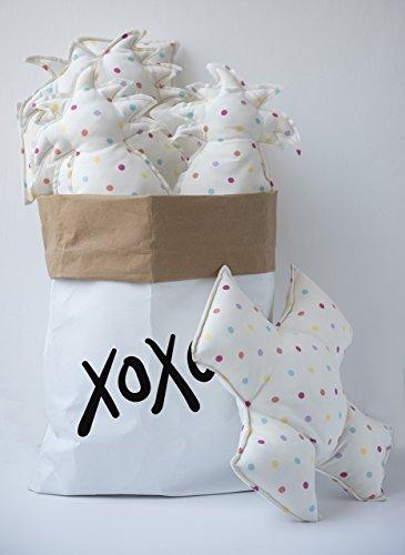 Nursery Interior, Stuffed Animal Storage, Kraft Paper Bag, Kids Room Organization, Shoe Storage by MESS-studio