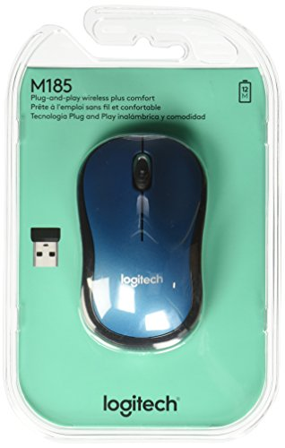 Logitech M185 Wireless Mouse 910 003636 product image