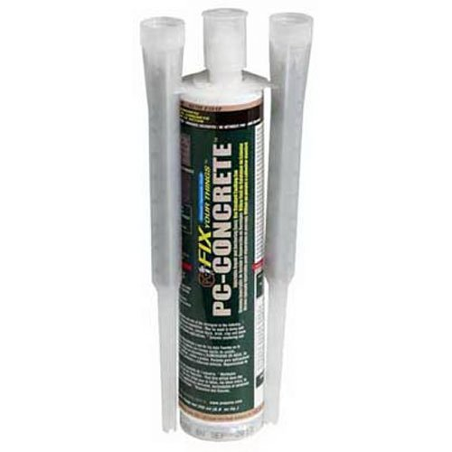 (PC Products 72561 PC-Concrete Two-Part Epoxy Adhesive Paste for Anchoring and Crack Repair, 8.6 oz Cartridge,)