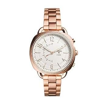 Fossil Women's FTW1208 Q Accomplice Smart Quartz Rose Gold-Tone Smartwatch