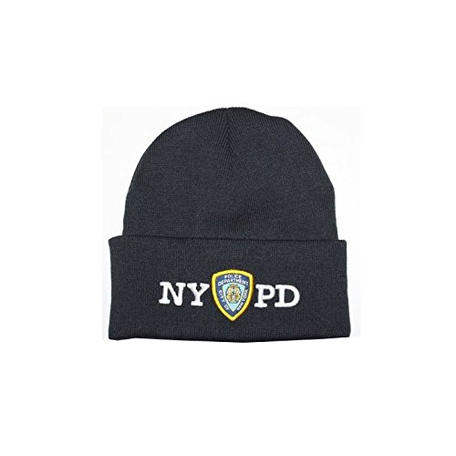 Amazon.com  NYPD Winter Hat Police Badge New York Police Department ... 03b54bcc867a