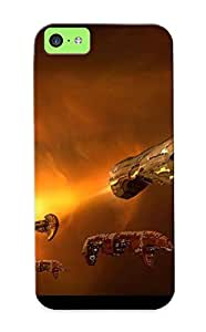 New Titan Nebula - Mass Effect 2 Tpu Skin Case Compatible With Iphone 5c/ Perfect Design