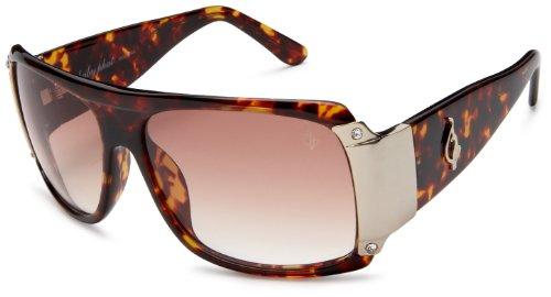 Baby Phat Frames (baby phat Women's 2048 Rectangular Sunglasses,Tortoise Frame/Brown Lens,one size)