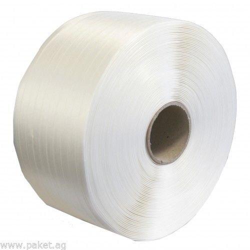 Textil Umreifungsband 19 mm, 600 m, 550 kg, Umreifung Kraftband Polyesterband paket.ag
