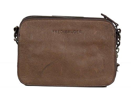 FREDsBRUDER Pralina bolso bandolera piel 24 cm Brown