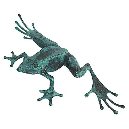 Design Toscano Tree Frog Cast Bronze Garden Statue