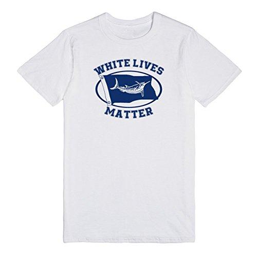 White Marlin lives matter | XL White T-Shirt (White Marlin)