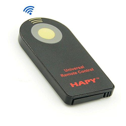 Hapy universal remote control Shutter Release FOR Canon RC-6, Nikon ML-L3,Infrared remote controller,Wireless Remote Controller,Canon, Nikon, Pentax, Olympus, SONY,Fujifilm,Panasonic,DSLR Cameras (Universal Remote Controller)