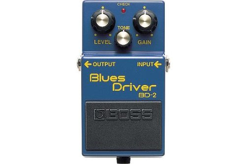 Boss BD-2 Blues Driver Guitar Effects Pedal by BOSS Audio Systems
