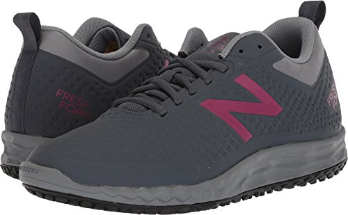 (New Balance Women's 806v1 Work Training Shoe, Grey, 9.5 D US)