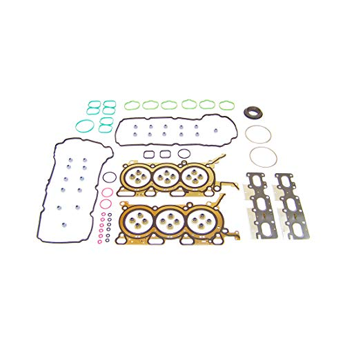 DNJ HGS4198 MLS Head Gasket Set for 2007-2012 / Ford, Lincoln, Mazda, Mercury/CX-9, Edge, Flex, Fusion, MKX, MKZ, Sable, Taurus, Taurus X / 3.5L / DOHC / V6 / 24V / 213cid / VIN T, VIN W