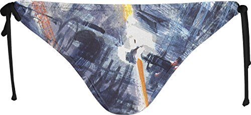 Musterbrand Star Wars Bikini Mujer Space Fight Death Star Space-Fight Artwork Multicolor XS
