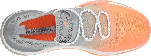adidas Stella McCartney Women's Pure Boost X Tr 3.0 Glow Orange S14/Eggshell/Grey/Smc/Footwear White 6 M US