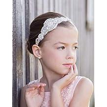 Missgrace Flower Girl Crystal Rhinestones Headband Wedding Hair Accessories Baby Girl Hair Jewelry