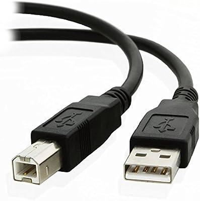 kenable USB 2,0 24AWG Alto Velocidad Cable Impresora Cable A A B ...