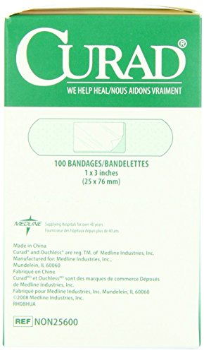 Medline Curad Plastic Adhesive Bandages 1 BX