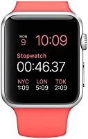 "Apple MJ2W2 Watch Reloj Inteligente 38 mm, Pantalla LCD de 3.8"", Wi Fi, Bluetooth, rosa"