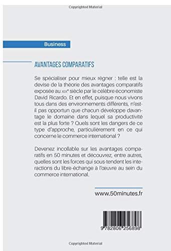Amazon.fr - Avantages comparatifs: Ricardo et les avantages de la spécialisation - Jean Blaise Mimbang - Livres